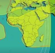 Broadband satellite internet access services for Africa