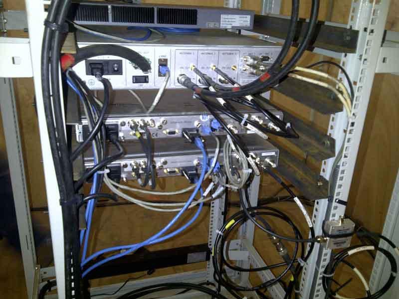 O3b site equipment