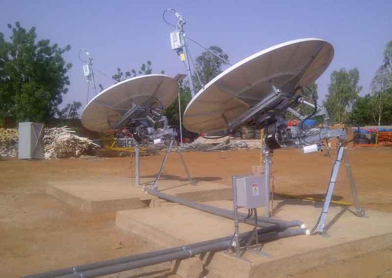 O3b tracking antennas