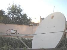 Ku band satellite dish