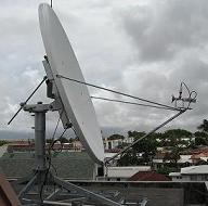 VSAT installation in Rwanda
