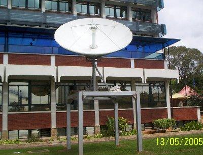 VSAT installation, Africa