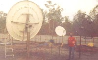 VSAT installation at Tinapa West Africa