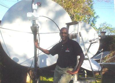George Mbogoh Kariuki VSAT installer Africa – Satellite Dish Technician