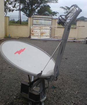 Self deploy VSAT installation