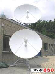 2.4 and 4.5m VSAT hub dishes