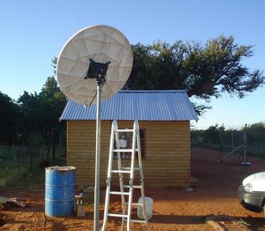 VSAT antenna Africa
