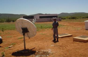 VSAT terminal Africa