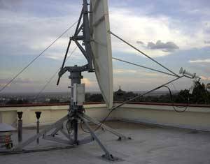 VSAT communications link for World Bank in Kenya