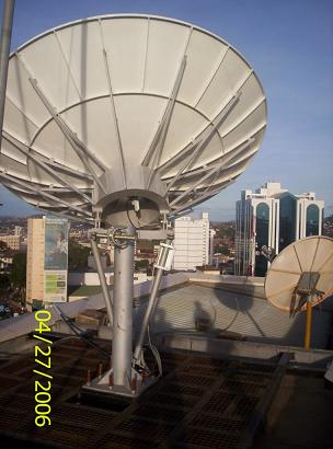 3.7m satellite antenna