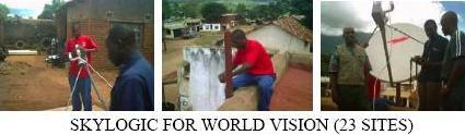 Skylogic VSAT installation in Africa