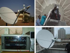 Olanrewaju Ore, VSAT satellite communications installer in Nigeria