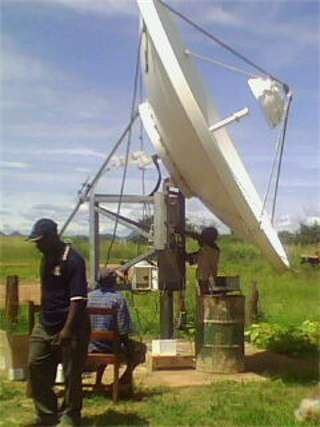 VSAT for Zambia Revenue Authority