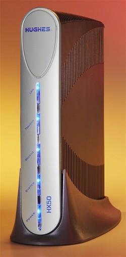 Hughes HX 50 VSAT terminal: Advanced satellite broadband ...