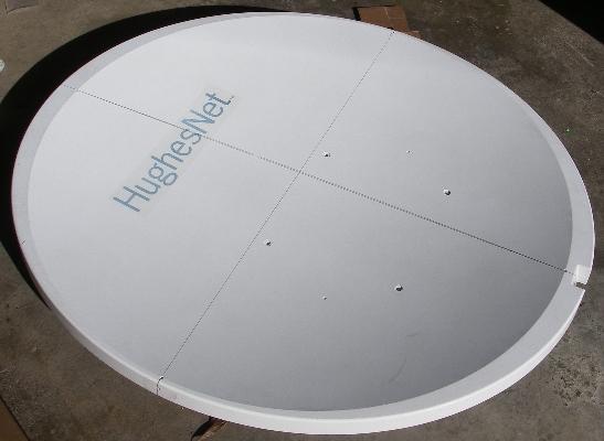 Prodelin 1.2m precision antenna reflector F/D=0.8