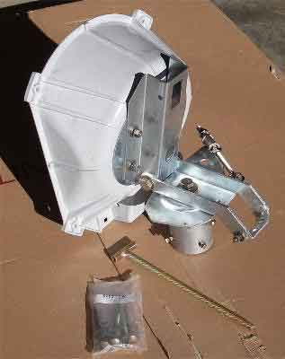 Prodelin 3 axis positioner