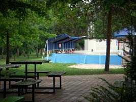 Spa gardens in Berekfurdo