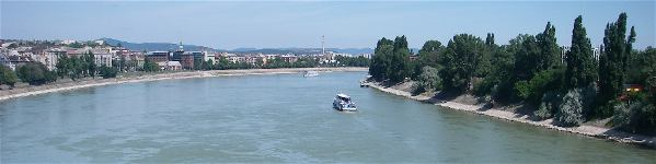 View of Danube in Budapest