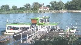 Danube ferry boat
