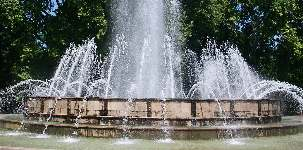 Fountain on Margaret island