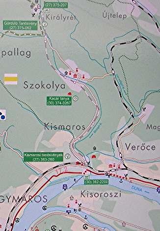 Map Kisoroszi Island