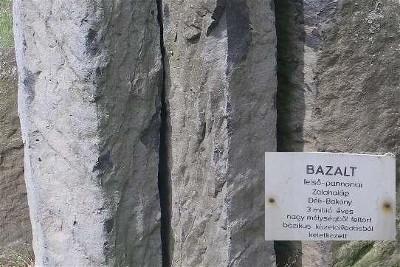 Basalt rock columns
