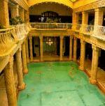The cycle tour involved visits to many thermal baths in Hungary