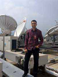 AbdelRahman Elshimy, Satellite antenna installer based in Egypt