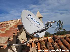 Gilat satellite broadband: wall mount