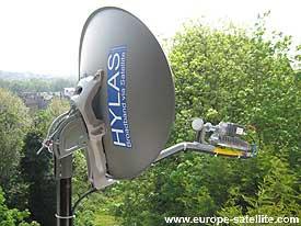 Hylas Ka band VSAT service