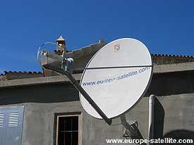 LinkStar satellite internet terminal: Wall bracket