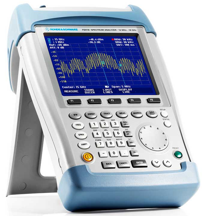 Cheap Spectrum Analyzer for Field Technicians
