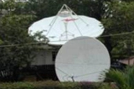Satellite Teleport antennas in Accra.