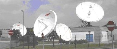Gateway's Gosselies Teleport in Belgium