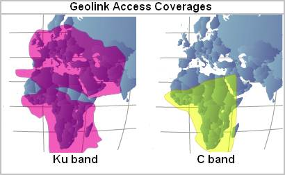SeaMobile: Geolink Access satellite coverage maps