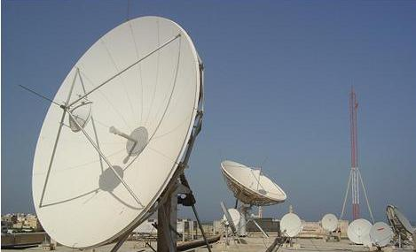 Picture of large Teleport Dish antenna