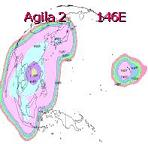 AGILA 2 satellite beam patterns