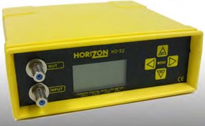 Horizon signal meter