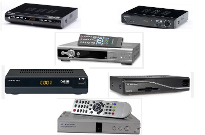 Satellite TV set top boxes