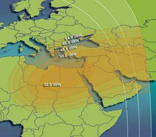Intelsat 901 ku band spot Middle East