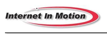 Internet in Motion logo
