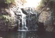 Waterfall in Madeira