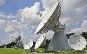 European teleport providing inteconnection with Africa