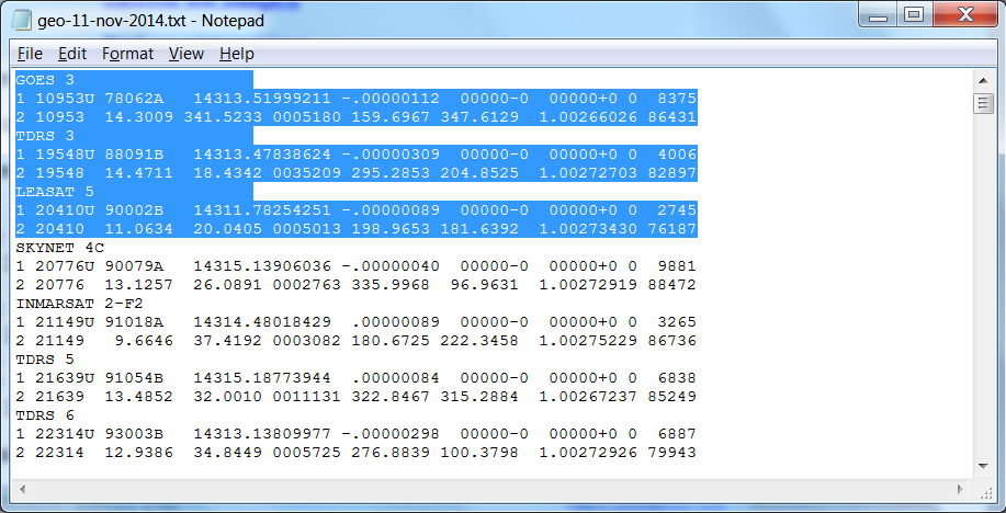 2 line elements calculation