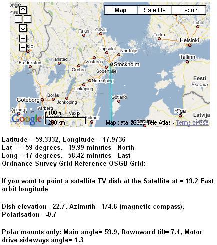 Polar mount: Elevation calculation problem
