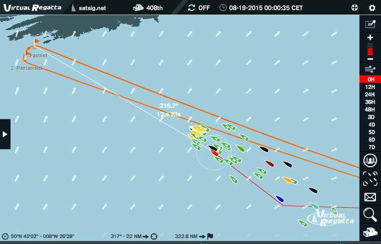 On the way : Fastnet next waypoint