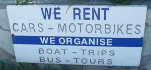 Rent Cars - Motobikes