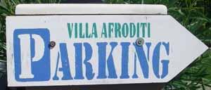 Villa Afriditi Parking