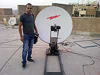Auto Deployment VSAT Antenna