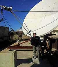 3.7m antenna Installation